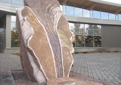 8 standing stone